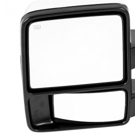 For 09-17 Dodge Ram 1500 2500 3500 Chrome Power Heated Puddle Signal Tow Mirrors