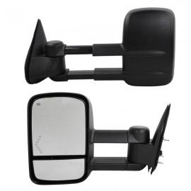 Power Heated LED Arrow Tow Mirrors For 2003-2006 Chevrolet Silverado GMC Sierra