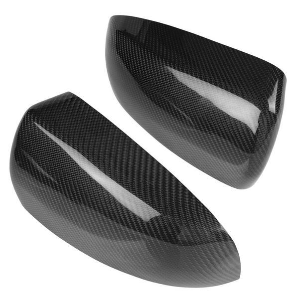 1 Pair of Carbon Fiber Side Rear View Mirror Cover Trim for BMW X5 E70 X6 E71