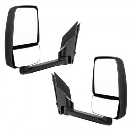 LEFT RIGHT Pair For 03-2017 Chevy Express GMC Savana Van Manual Tow Side Mirrors