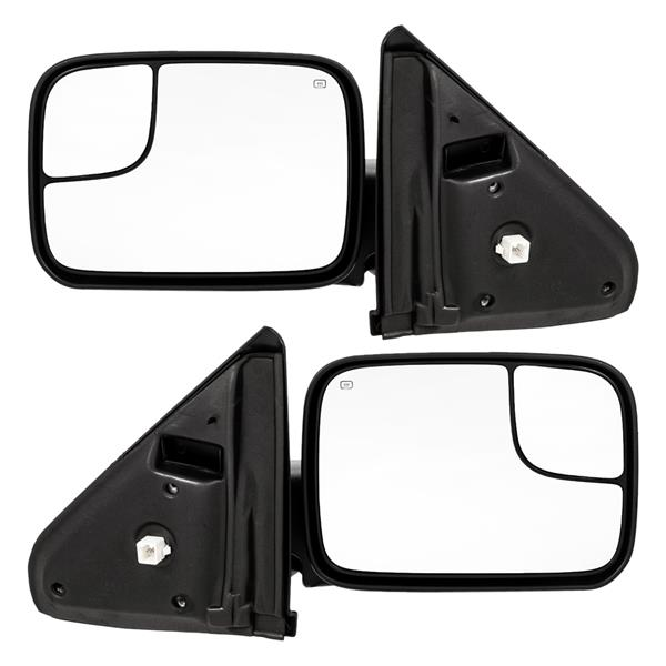 FOR 02-08 Dodge Ram 1500 2500 3500 Tow Power Heated Driver Side View Mirror