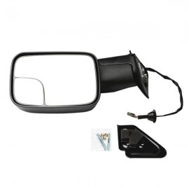 Left Right For 1994-97 Dodge Ram 1500 2500 Tow Extend Flip Up POWER Side Mirrors