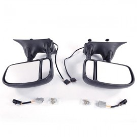 L R For 99-07 Ford F250 F350 Super Duty Side View Mirrors Power Towing Folding