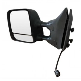 Mirror Power Heated Towing Black Driver Left Side for 04-15 Titan