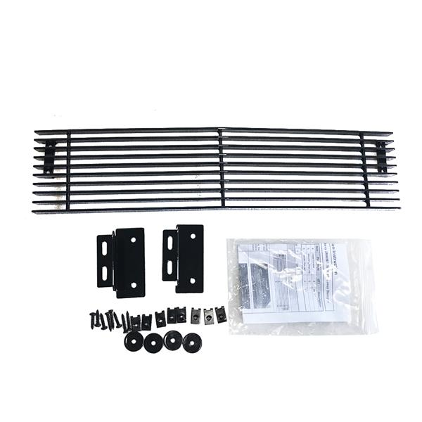 Black Powder Coated Lower Bumper Grille for Chevy 2500HD/3500HD 2015-2019  Black