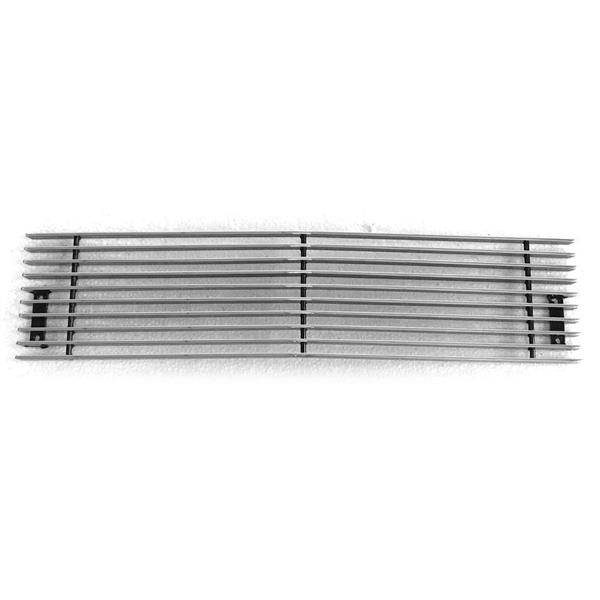 1pc Lower Bumper Polished Aluminum Car Grille for Chevy 2500HD/3500HD 2015-2019 Chrome