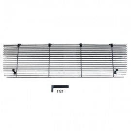Black Powder Coated Main Upper Grille for Ford Bronco/F-Series Pickup 92-96 Chrome