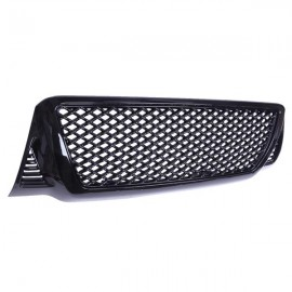 ABS Plastic Car Front Bumper Grille for 2005-2011 Toyota Tacoma ABS Coating QH-TO-009 Black