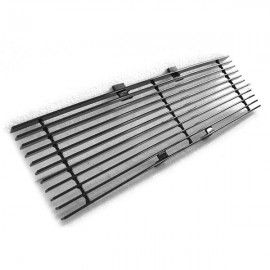 Black Powder Coated Lower Bumper Grille for Ford F-150 2009-2014 Black