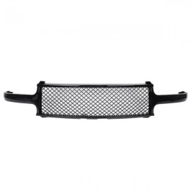 ABS Plastic Car Front Bumper Grille for1999-02 Chevy Silverado/2000-2006 Suburban/Tahoe Coating QH-CH-003 Black