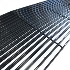 1pc Main Upper Black Powder Coated Aluminum Car Grille for Chevrolet Van Suburban C10 C20 K10 K20 K5