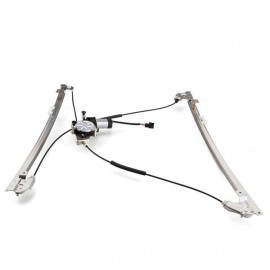 Front Left Power Window Regulator with Motor for 96-00 Chrysler Town and Country