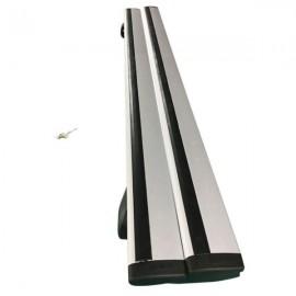 """2 Pairs 48"""" Universal Aluminum Cargo Roof Rack with Lock Black"""