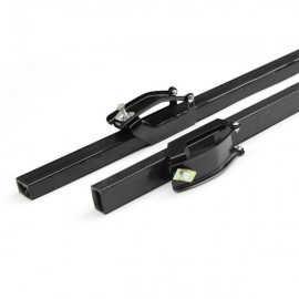"2pcs 48"" Universal Iron Roof Racks with Locks and Keys"