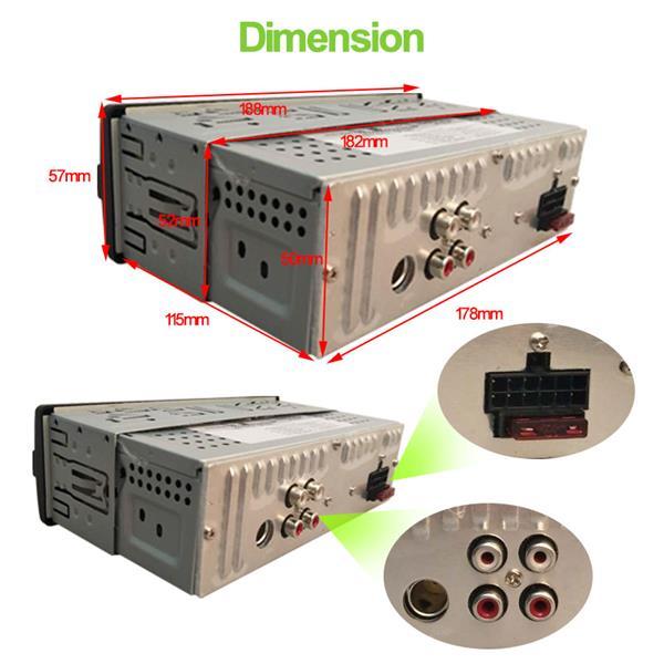 GRUNDIG CAR MP3 Player CAR RADIO MP3/WMA/USB/TF/BT PLAYER MP3 & FM RECEIVER